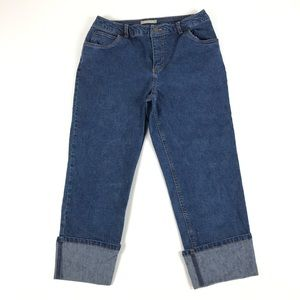 Field Gear Womens Cropped Capri Jeans Size 8